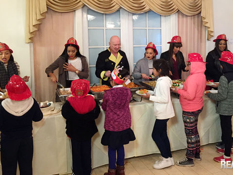 Chef Bruno & #TheReal Cook Up Thanksgiving Happiness for the Kids
