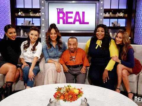 Wednesday on 'The Real': Tony Cox and Co-Host Angela Simmons