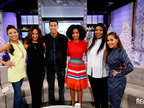 Tuesday on 'The Real': Marcus Scribner & Yara Shahidi Are Here!