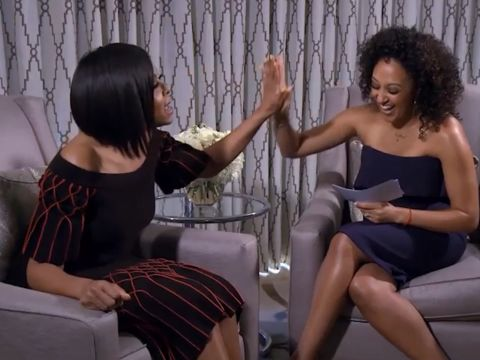 WEB EXCLUSIVE: More with Taraji P. Henson!