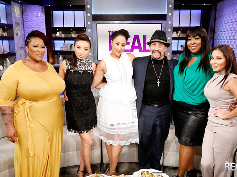 Friday on 'The Real': Danny Trejo, Guest Co-Host Frenchie Davis!