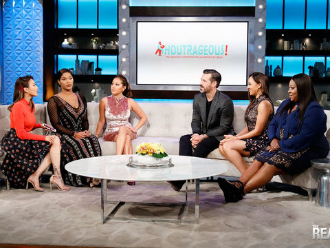 Shoutrageous with Eddie Cibrian and Joseline Hernandez!