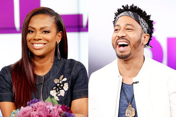 Guest Co-Host Kandi Burruss, Brandon T. Jackson