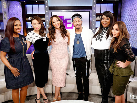 Wednesday on 'The Real': Guest Co-Host Kandi Burruss, Brandon T. Jackson