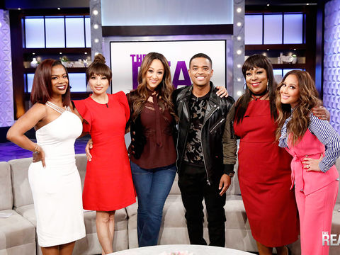 Friday on 'The Real': Guest Co-Host Kandi Burruss, Larenz Tate