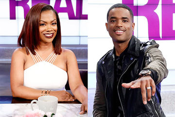 Guest Co-Host Kandi Burruss, Larenz Tate