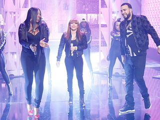 Guest Co-Host Remy Ma, Keyshia Cole, & French Montana Hit the Stage!