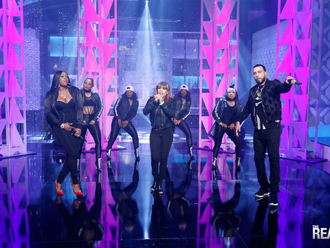Tuesday on 'The Real': Remy Ma, Keyshia Cole & French Montana Perform!