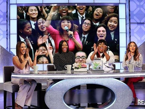 Today on #TheReal, @TheJeannieMai takes #TheRealOnTheRoad to PHILLY
