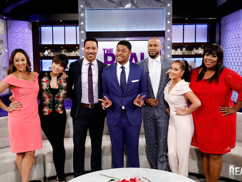 Tuesday on 'The Real': Guest Co-Host Pooch Hall, Plus Brian White and Finesse…
