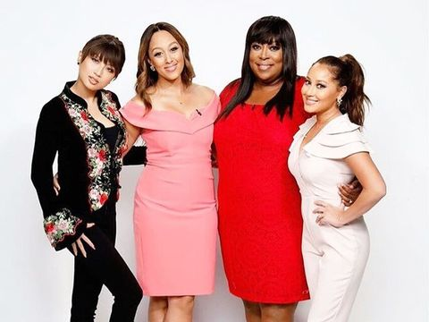 #TheReal ladies always have so much fun color coordinating!