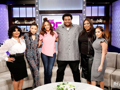 Monday on 'The Real': Guest Co-Host Shekinah, Craig Robinson