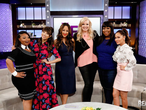 Friday on 'The Real': Guest Co-Host Shekinah, Melissa Peterman