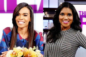 Guest Co-Host Michelle Williams, Denise Boutte