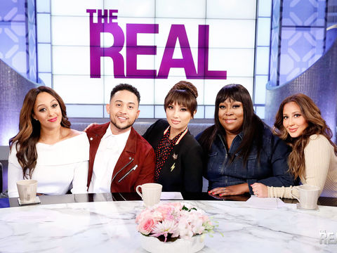"Monday on ""The Real': Guest Co-Host Tahj Mowry!"