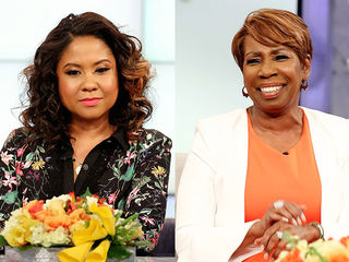 Guest Co-Host Angela Yee, Iyanla Vanzant