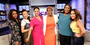 Thursday on 'The Real': Guest Co-Host Angela Yee, Iyanla Vanzant