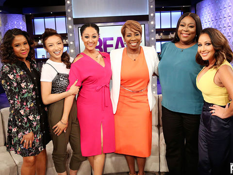 Tuesday on 'The Real': Guest Co-Host Angela Yee, Iyanla Vanzant
