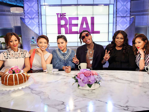 Thursday on 'The Real': Guest Co-Host Angela Yee, Wiz Khalifa, 'The Riveras'