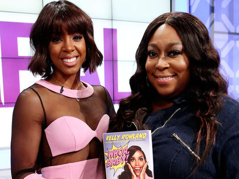 Win Kelly Rowland's New Book, 'Whoa, Baby!'
