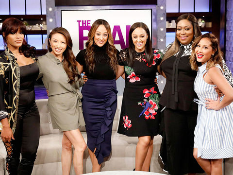 Thursday on 'The Real': Guest Co-Host Joseline Hernandez, Tia Mowry-Hardrict