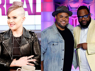 Guest Co-Host Kelly Osbourne, Israel Houghton & Hezekiah Walker