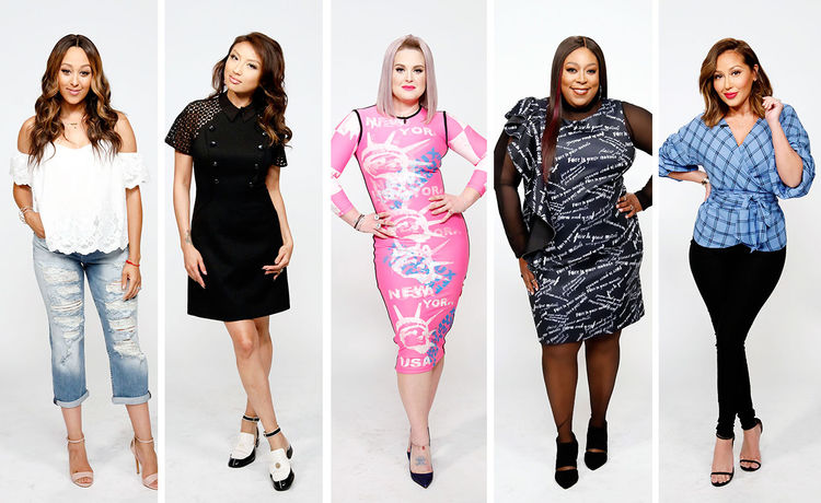 #TheReal Style Breakdown: Colorful and Classic
