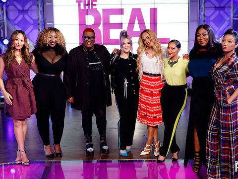 Wednesday on 'The Real': Guest Co-Host Kelly Osbourne, Faith Evans Performs