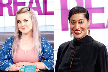 Guest Co-Host Kelly Osbourne, Tracee Ellis Ross
