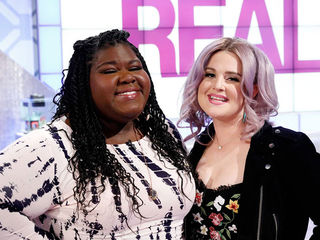 Guest Co-Host Kelly Osbourne, Gabourey Sidibe