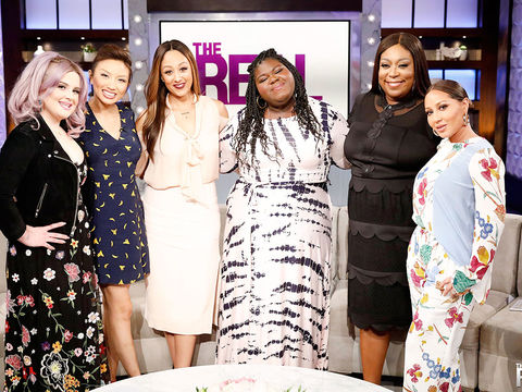 Friday on 'The Real': Guest Co-Host Kelly Osbourne, Gabourey Sidibe