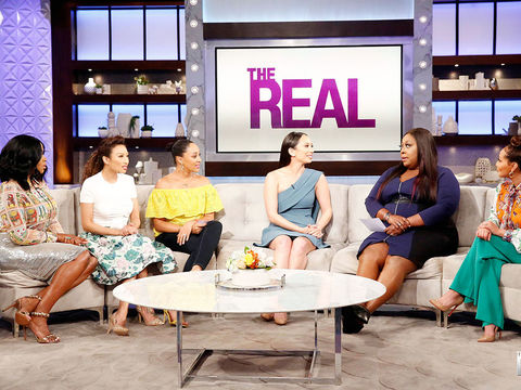 Monday on 'The Real': Guest Co-Host Remy Ma, Cheryl Burke