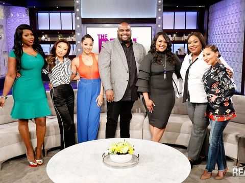 TODAY on a brand new #TheReal, @RealJohnGray and @Grayceeme talk…
