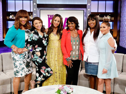 "Monday on ""The Real"": Guest Co-Host Kym Whitley, Tichina Arnold"