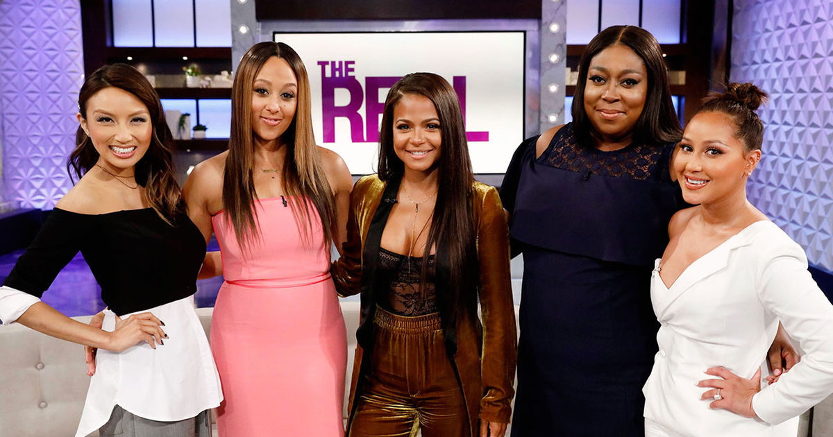 "Friday on ""The Real"": TGIF with Christina Milian"