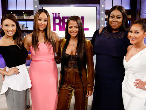 """Friday on """"The Real"""": TGIF with Christina Milian"""
