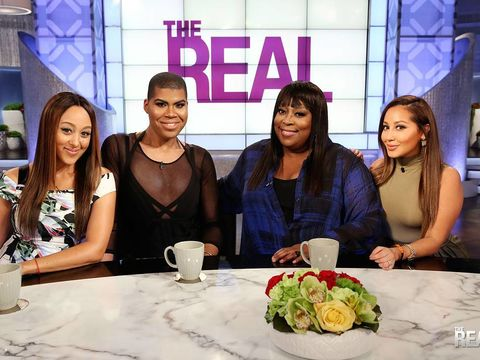 Today on #TheReal, we have guest bro-host @ejjohnson_!