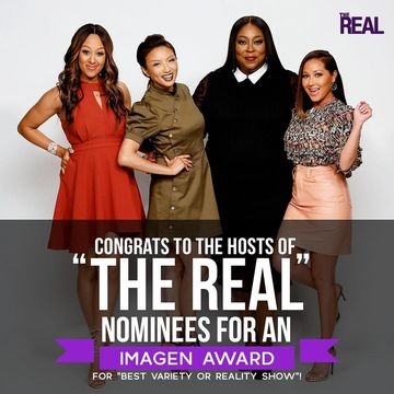 "We're so honored to be nominated for an #ImagenAward for ""Best Variety or…"