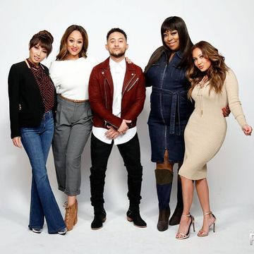 Today on #TheReal, @TameraMowryTwo's brother, @Tahj_Mowry, joins us a bro-host,…