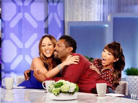 Today on #TheReal, @DeonCole joins us as guest bro-host and gives us some guy…