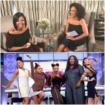 Today on #TheReal, @TameraMowryTwo chats with #HiddenFigures leading lady…