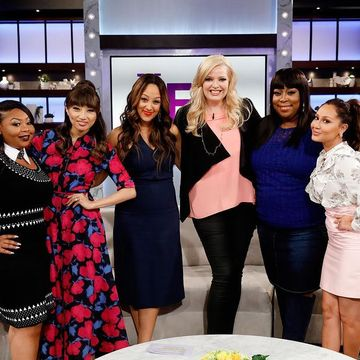 It's guest co-host @thatshekinah last day at #TheReal, and she's getting real…