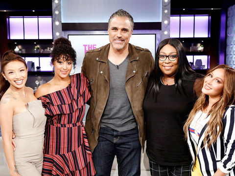 Tuesday on 'The Real': Greenleaf's Rick Fox Is Playing A Game!