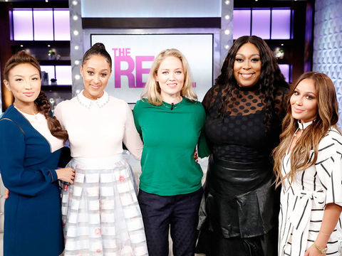 Thursday on 'The Real': Erika Christensen and TAP OUT!