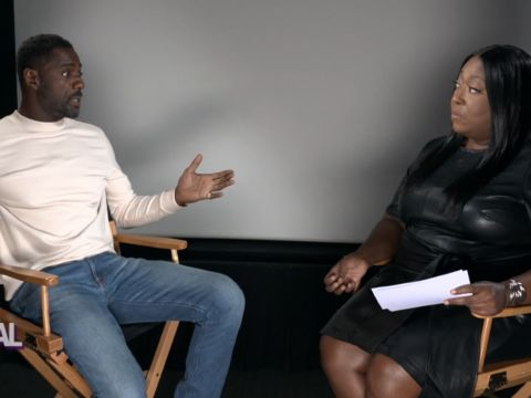 Extended Interview with Idris Elba and Loni Love! - Part 2