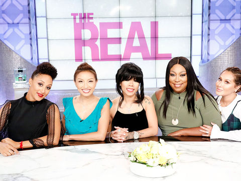Thursday on 'The Real': Loni Love Finally Meets Idris Elba!