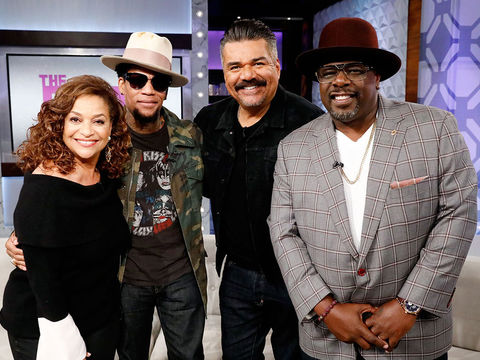 Thursday on 'The Real': George Lopez, Cedric the Entertainer, D.L. Hughley, and…