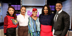 Tomorrow on 'The Real': Pooch Hall and Kim Fields!