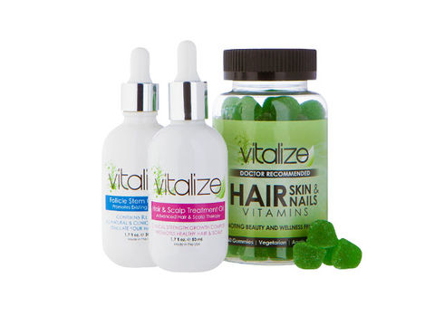 Vitalize Hair Regrowth Giveaway