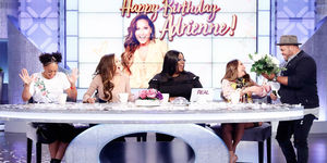 Adrienne Gets An Emotional Surprise for Her Bday